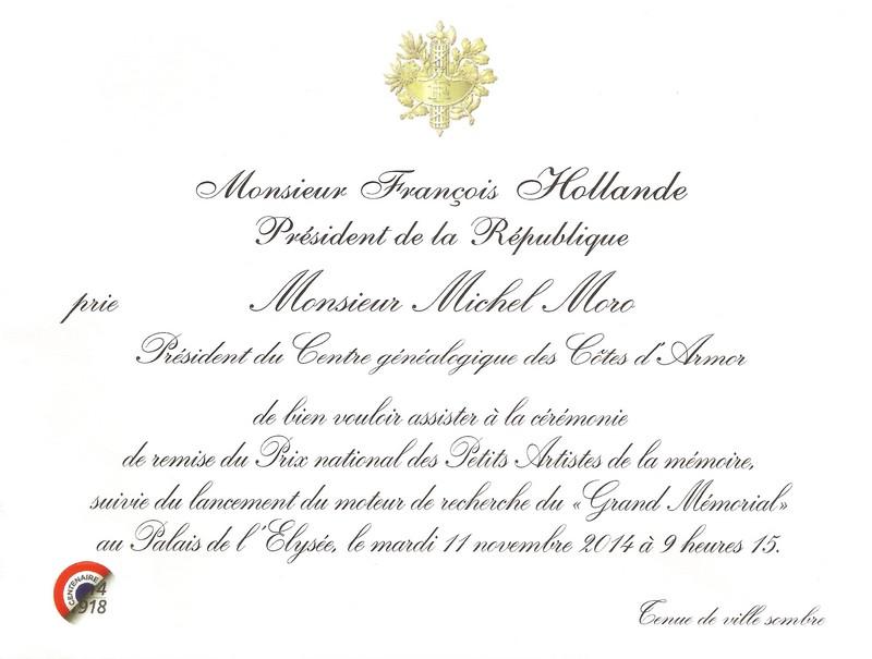 Connu Le Président du CG22 a été invité à l'Élysée pour l'inauguration  QW57